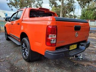 2018 Holden Colorado RG MY19 Z71 Pickup Crew Cab Orange 6 Speed Sports Automatic Utility