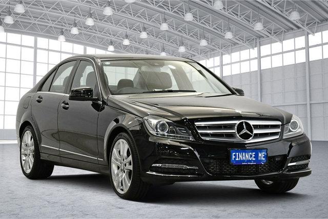 Used Mercedes-Benz C-Class W204 MY13 C250 7G-Tronic + Elegance Victoria Park, 2013 Mercedes-Benz C-Class W204 MY13 C250 7G-Tronic + Elegance Black 7 Speed Sports Automatic Sedan