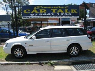 2002 Subaru Outback GEN3 Luxury White 4 Speed Automatic Wagon.