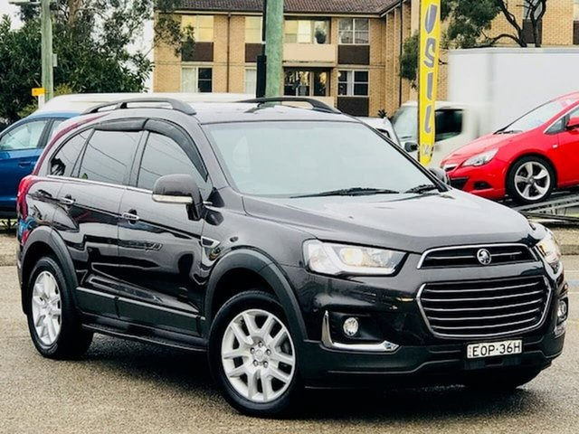 Used Holden Captiva CG MY17 Active 2WD Liverpool, 2016 Holden Captiva CG MY17 Active 2WD Brown 6 Speed Sports Automatic Wagon