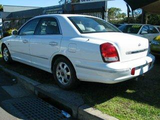 2002 Hyundai Grandeur FINANCE $46 Per Week White 4 Speed Automatic Sedan
