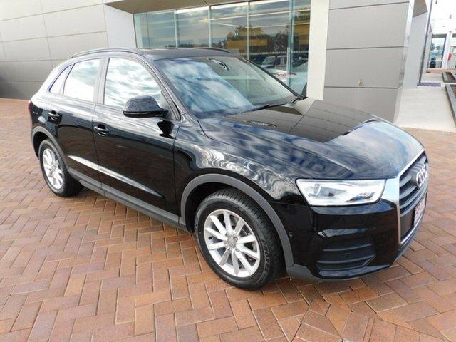 Used Audi Q3 8U MY17 TFSI S Tronic Toowoomba, 2017 Audi Q3 8U MY17 TFSI S Tronic Black 6 Speed Sports Automatic Dual Clutch Wagon