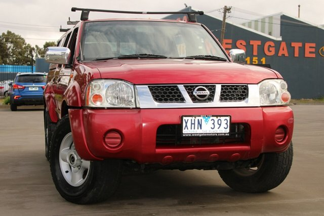 Used Nissan Navara D22 ST-R (4x4) West Footscray, 2006 Nissan Navara D22 ST-R (4x4) 5 Speed Manual Dual Cab Pick-up