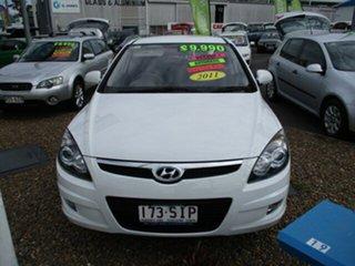 2010 Hyundai i30 THROPHY White 4 Speed Automatic Hatchback.