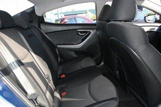 2011 Hyundai Elantra MD Active Santorini Blue 6 Speed Manual Sedan