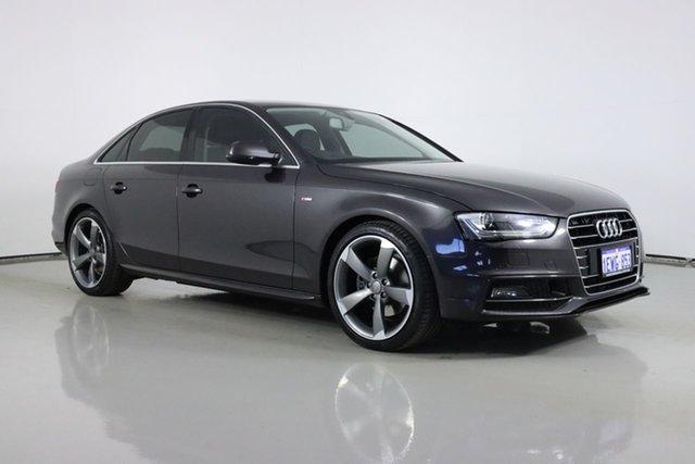 Used Audi A4 B8 (8K) MY15 1.8 TFSI S-Line LE Bentley, 2015 Audi A4 B8 (8K) MY15 1.8 TFSI S-Line LE Grey CVT Multitronic Sedan