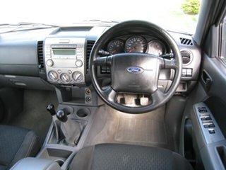 2009 Ford Ranger PK XL (4x4) White 5 Speed Manual Dual Cab Pick-up