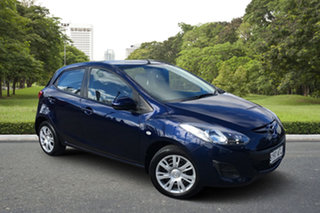 2012 Mazda 2 DE10Y2 MY12 Neo Blue 5 Speed Manual Hatchback.