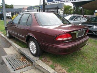1997 Ford Fairmont EL Maroon 4 Speed Automatic Sedan
