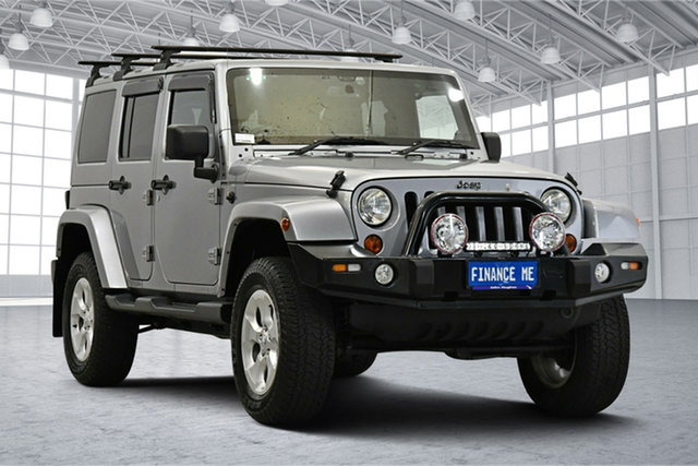 Used Jeep Wrangler JK MY2013 Unlimited Overland Victoria Park, 2013 Jeep Wrangler JK MY2013 Unlimited Overland Billet Silver 5 Speed Automatic Hardtop