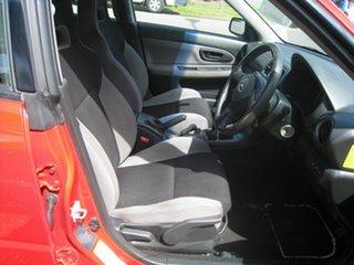 2005 Subaru Impreza RS, FINANCE $57 Per Week Red 5 Speed Manual Hatchback