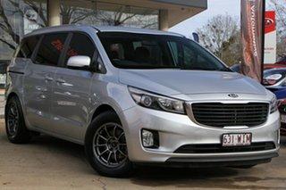 2016 Kia Carnival YP MY16 SI Silver 6 Speed Sports Automatic Wagon.