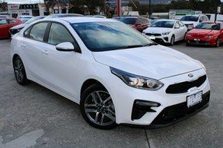 2020 Kia Cerato BD MY21 Sport+ White 6 Speed Sports Automatic Sedan.