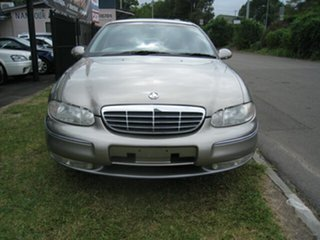 2001 Holden Statesman WH II Super Charged Gold 4 Speed Automatic Sedan.