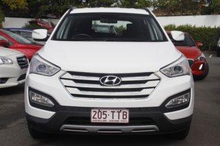 2013 Hyundai Santa Fe DM MY13 Active White 6 Speed Sports Automatic Wagon.