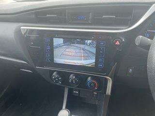 2017 Toyota Corolla ZRE172R Ascent S-CVT White 7 Speed Constant Variable Sedan