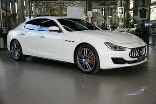 2017 Maserati Ghibli M157 MY18 White 8 Speed Sports Automatic Sedan