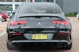 2020 Mercedes-Benz CLA-Class C118 800+050MY CLA35 AMG SPEEDSHIFT DCT 4MATIC Black 7 Speed