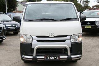 2017 Toyota HiAce KDH201R MY16 LWB Crew French Vanilla 5 Speed Manual Van