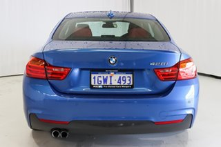2016 BMW 4 Series F32 428i M Sport Blue 8 Speed Sports Automatic Coupe