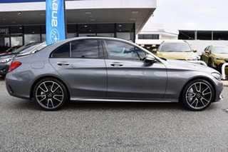 2017 Mercedes-Benz C-Class W205 807+057MY C43 AMG 9G-Tronic 4MATIC Grey 9 Speed Sports Automatic