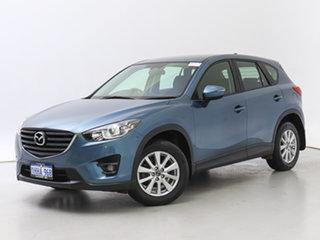 2015 Mazda CX-5 MY15 Maxx Sport (4x4) Blue 6 Speed Automatic Wagon.
