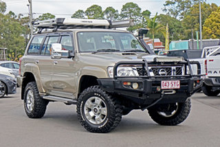 2012 Nissan Patrol GU 7 MY10 ST Gold 5 Speed Manual Wagon.