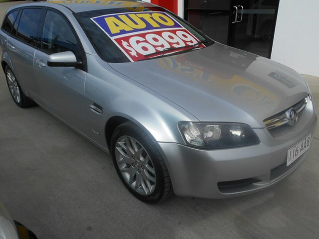 Used Holden Commodore VE MY10 International Sportwagon Springwood, 2009 Holden Commodore VE MY10 International Sportwagon Silver 6 Speed Sports Automatic Wagon
