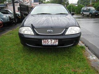 2000 Ford Falcon AU II Futura Blue 4 Speed Automatic Wagon.
