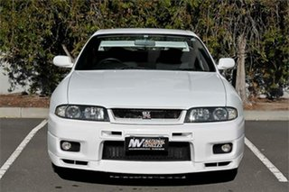 1995 Nissan Skyline BCNR33 GT-R White 5 Speed Manual Coupe.