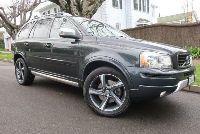 Used Volvo XC90 P28 MY12 D5 Geartronic R-Design Prospect, 2012 Volvo XC90 P28 MY12 D5 Geartronic R-Design Grey 6 Speed Sports Automatic Wagon