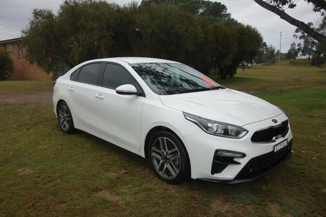 Used Kia Cerato YD MY18 Sport+ East Maitland, 2018 Kia Cerato YD MY18 Sport+ White 6 Speed Sports Automatic Sedan