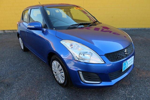 Used Suzuki Swift FZ MY15 GL Winnellie, 2015 Suzuki Swift FZ MY15 GL Blue 4 Speed Automatic Hatchback