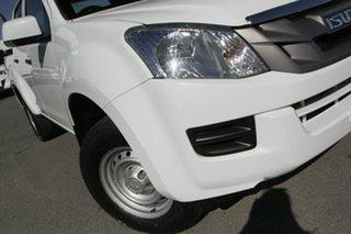 2016 Isuzu D-MAX MY15 SX Crew Cab Splash White 5 Speed Sports Automatic Utility.
