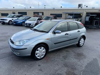 2003 Ford Focus LR CL Silver 4 Speed Automatic Hatchback.