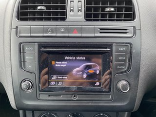 2014 Volkswagen Polo 6R MY15 66TSI DSG Trendline Pure White 7 Speed Sports Automatic Dual Clutch