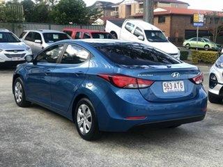 2014 Hyundai Elantra MD3 Active Blue 6 Speed Sports Automatic Sedan.