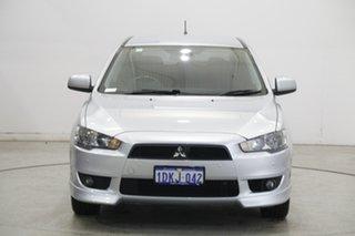 2010 Mitsubishi Lancer CJ MY10 VR-X Sportback Cool Silver 6 Speed Constant Variable Hatchback.