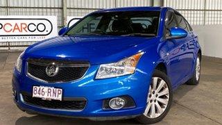 2011 Holden Cruze JH Series II MY11 CDX Blue 6 Speed Sports Automatic Sedan.