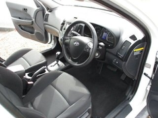 2010 Hyundai i30 THROPHY White 4 Speed Automatic Hatchback