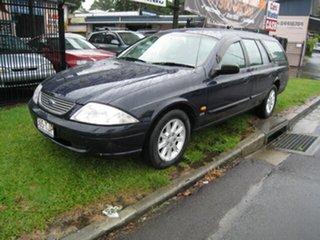 2000 Ford Falcon Finance  $46 Per Week Blue 4 Speed Automatic Wagon.