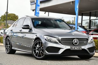 2017 Mercedes-Benz C-Class W205 807+057MY C43 AMG 9G-Tronic 4MATIC Grey 9 Speed Sports Automatic.