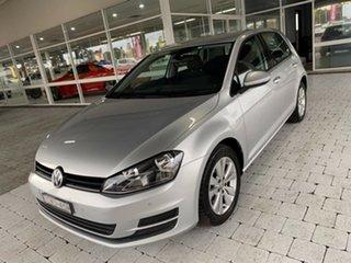 2014 Volkswagen Golf 90TSI - Comfortline Reflex Silver Sports Automatic Dual Clutch Hatchback.