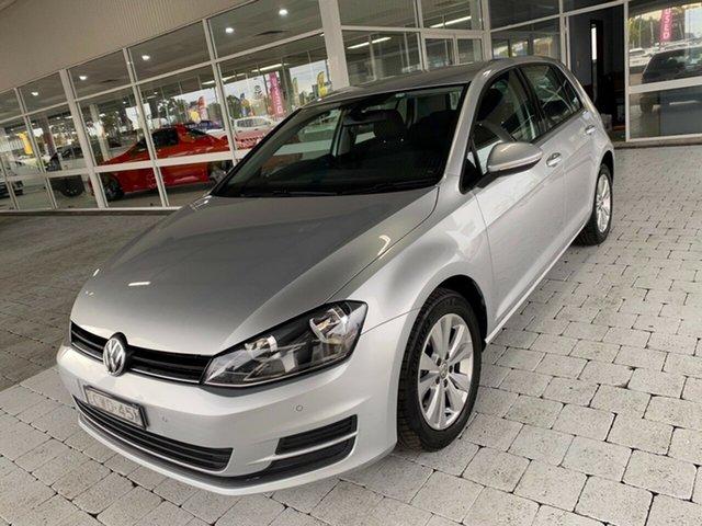 Used Volkswagen Golf Taree, 2014 Volkswagen Golf 90TSI - Comfortline Reflex Silver Sports Automatic Dual Clutch Hatchback