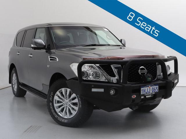 Used Nissan Patrol Y62 TI (4x4), 2015 Nissan Patrol Y62 TI (4x4) Grey 7 Speed Automatic Wagon
