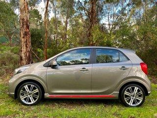 2020 Kia Picanto JA MY20 GT-Line Grey 4 Speed Automatic Hatchback.