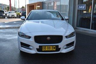 2015 Jaguar XE X760 MY16 R-Sport White 8 Speed Sports Automatic Sedan.