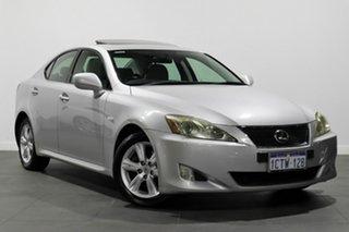 2009 Lexus IS GSE20R MY09 IS250 Prestige Silver 6 Speed Sports Automatic Sedan.