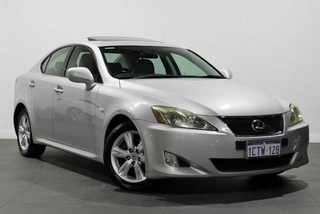 Used Lexus IS GSE20R MY09 IS250 Prestige Bayswater, 2009 Lexus IS GSE20R MY09 IS250 Prestige Silver 6 Speed Sports Automatic Sedan