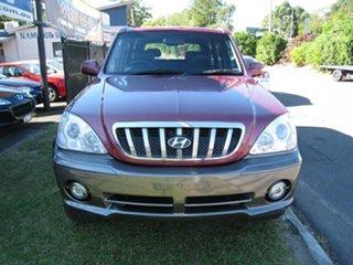 2003 Hyundai Terracan Finance  $46 Per Week Maroon 5 Speed Manual Wagon.
